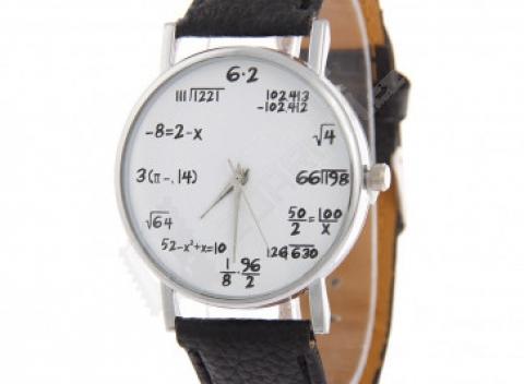 Unisex hodinky pre matematických nadšencov - na výber z 11 farieb ecc91baea8f