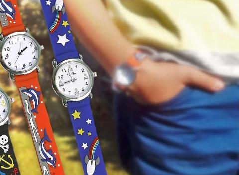 a7a02e1f39d Detské hodinky s hravými motívmi pre chlapcov i dievčatá - bonus 3+1 ZDARMA!