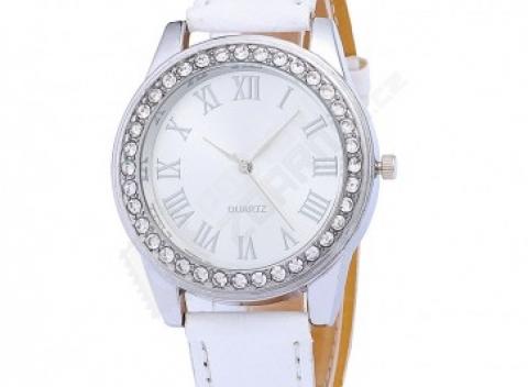ae5b756254e Elegantné dámske hodinky s kamienkami vo viacerých farbách. Doprava zdarma.