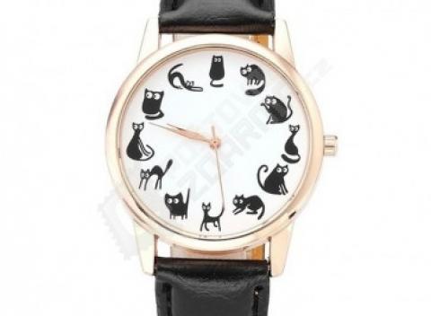 d1a3b537ed4 Dámske hravé hodinky s motívom mačiek na ciferníku. Doprava zadarmo.