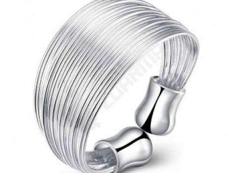 01fc457aa28 Viacvrstvový dámsky prsteň v univerzálnej veľkosti