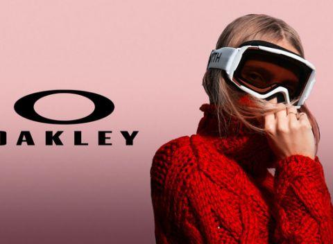 3c18f418c Fantastické značkové unisex lyžiarske okuliare značky OAKLEY v čiernej  farbe.