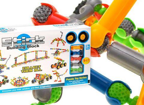 b242ae0fb943 Detská stavebnica Stick Building Block - stimulujte predstavivosť