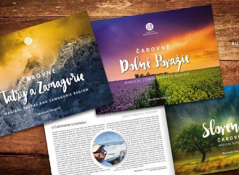 5a5caeb9c86d Unikátna edícia kníh Čarovné Slovensko s najkrajšími fotografiami našich  krajov.