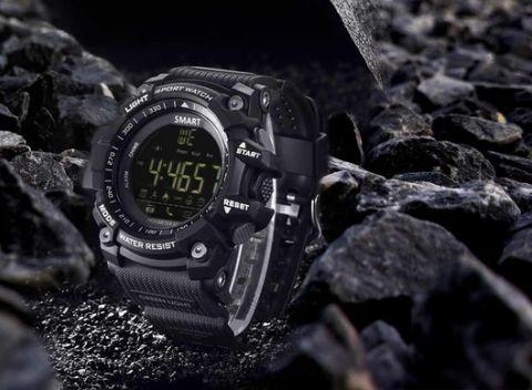 Inteligentné a vodeodolné pánske športové hodinky s bluetooth a kamerou. 152bffd1a0
