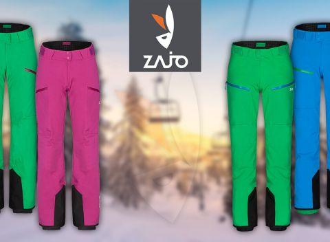 79c19d8396f1 Pohodlné lyžiarske nohavice ZAJO pre dámy i pánov
