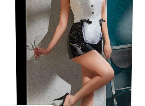 92bdd3a4c Erotické oblečenie Vinyl Maids Dress. Príjemné intímne chvíle!