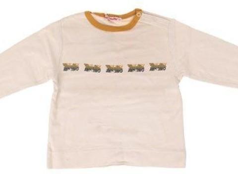 Béžové dojčenské tričko One Way s dlhým rukávom. Materiál  100% bavlna. a1e393bcec8