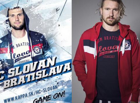 Zľava 50 % na všetko oblečenie značky Kappa z kolekcie HC Slovan  Bratislava. Slovensko Oblečenie fcd8afd46bf