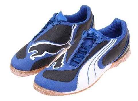 Dětské originálne športovné topánky Puma v5.08 IT Junior v modrej farbe 7e88af2dc87