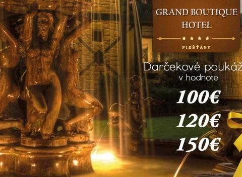 9d42634be0e8 Darčeková poukážka na pobyt v Grand Boutique Hoteli Sergijo     Piešťany v  hodnote