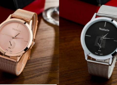 Originálne dámske hodinky s ručičkou navyše e7557a9e7d4