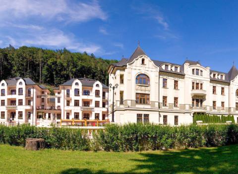 0b707bff9 Trenčianske Teplice: luxusný liečebný pobyt s polpenziou v hoteli Most  Slávy ***.