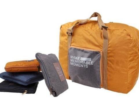 0fb6b3aeaf37 Skladacia cestovná taška ExtraBag ideálna ako príručná batožina vhodná i do  lietadla.