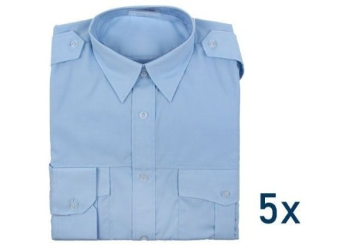 79d16e76abe6 BRUDRA - Pánska svetlo modrá košeľa s dlhým rukávom. Slovensko Oblečenie