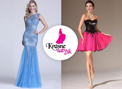 e8775e5f8c08 Krásne spoločenské šaty Vyberte si z rôznych druhov