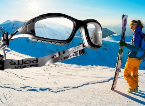 5695d21ee Univerzálne okuliare Bollé Ochrana voči mechanickým a chemickým rizikám