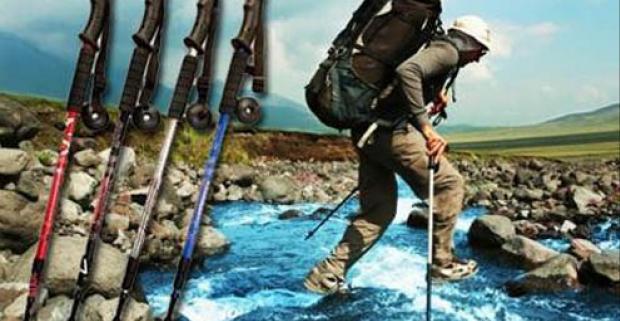 Milujete hory, turistiku,aktívnu chôdzu, avšak s pribúdajúcim vekom už to nejde tak ľahko ako kedysi? Vyskúšajte trekingové palice ENERGIA.