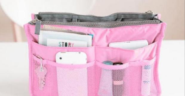 Organizér do kabelky! Praktické riešenie vášho problému s prekladaním vecí z kabelky do kabelky, ktoré vám ušetrí čas a nič si nezabudnete.