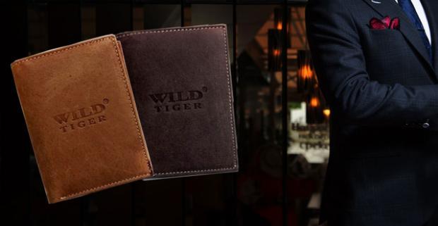 21a4fcfd0 Elegancia, kvalita a praktickosť – to sú tri základné veci, ktoré pánske  kožené peňaženky Wild Tiger určite spĺňajú.