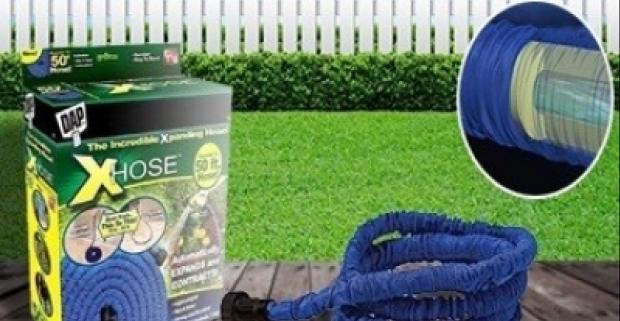 Ak, chcete porobiť všetky práce okolo domu bez toho, aby ste prenášali ťažké vedro s vodou použite Xhose záhradnú hadicu - 30 m.