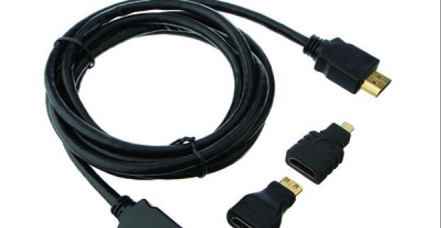 Vychutnajte si krištáľovo čistý HD obraz a videá na TV! S týmto vysoko kvalitným HDMI kábelom nebudete mať problém propojiť vaše zariadenia.