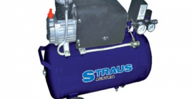 Olejový jednovalcový kompresor 25 L. Vhodný pre bicykle, auto, motocykel pneumatiky, nafukovacie hračky, matrace, lopty a pod.