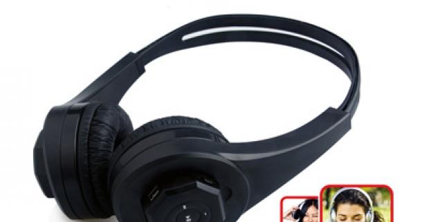 Užívajte si vašu obľúbenú hudbu kdekoľvek sa nachádzate s fantastickým MP3 prehrávačovým sluchátkom s TF pamäťovou kartou.
