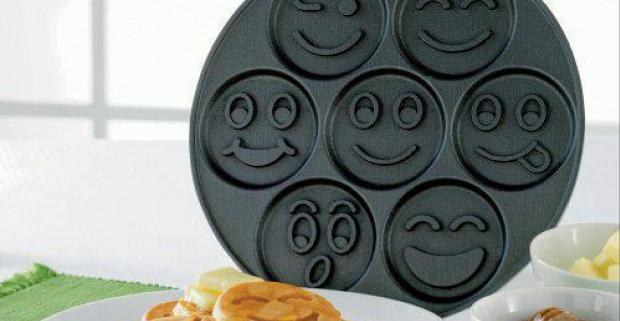 Milujete palacinky? S praktickou panvicou na palacinky - Smile vytvoríte neodolateľnú pochúťku, ktorá vás zároveň rozveselí.
