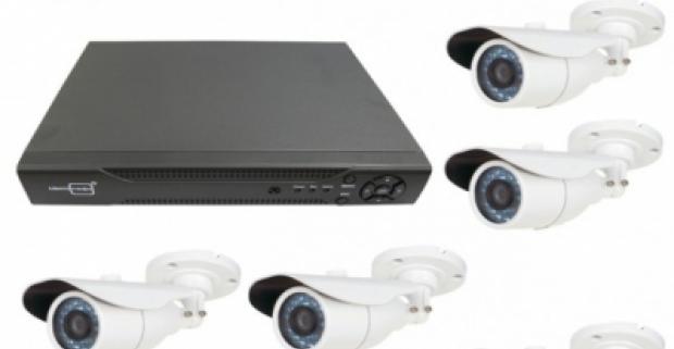 Zabezpečte svoj majetok a bývanie spoľahlivým online bezpečnostným systémom. Obsahuje centrálny prijímač a 8 ks kamier.