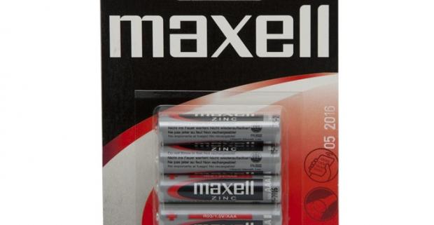 MAXELL mikro tužková batéria AAA. Bezpečné a čisté použitie, pretože neobsahuje ortuť a kadmium, tým chráni životné prostredie