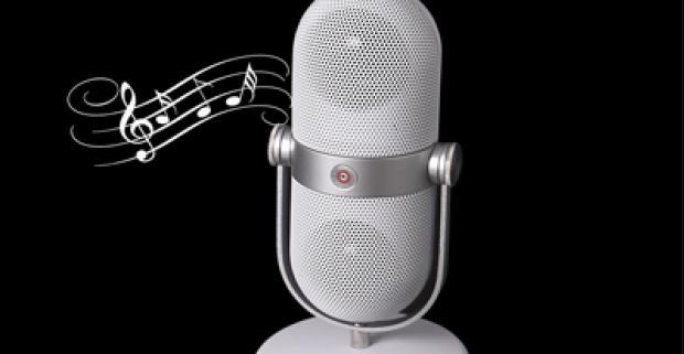 Bluetooth reproduktor v tvare mikrofónu. Počúvajte elegantne vašu obľúbenú hudbu s počítača, smartphonu či tabletu.