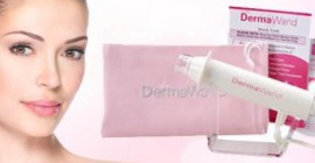 Revolučný prístroj na omladenie pleti - DermaWand. Redukuje jemné nerovnosti, záhyby a vrásky, vyhladzuje a spevňuje ochabnutú pokožku.