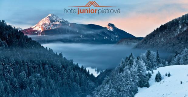 Zimné radovánky v malebnej časti Malej Fatry - v Hoteli Junior Piatrová**! Pobyt na 3, 4 alebo 5 dní pre dvoch s polpenziou.