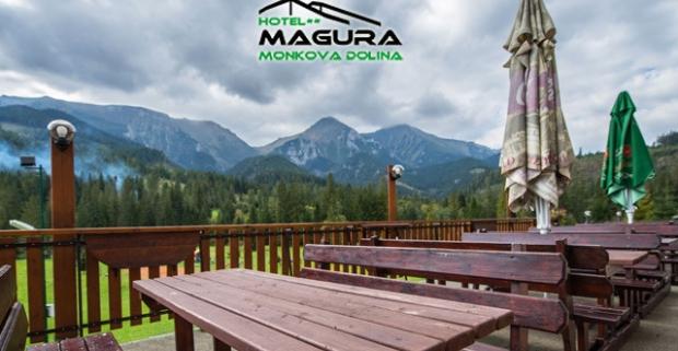 Zážitkový pobyt na 4, 5 alebo 7 nocí v Hoteli Magura** v prekrásnom prostredí Belianskych Tatier. K tomu polpenzia a vstup do wellness.