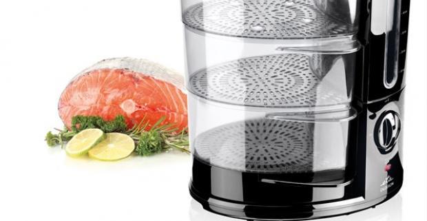 Zdravé varenie ponúka parný hrniec ETA 1134 90000. Vďaka tepelnému spracovaniu v pare potraviny nestráca svoju prirodzenú chuť ani vitamíny.