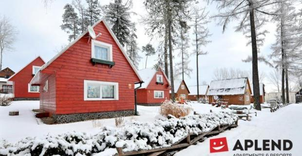 Zimná dovolenka pod Slavkovským štítom vo Vysokých Tatrách s ubytovaním v štúdiách, apartmánoch alebo chatkách Aplend.