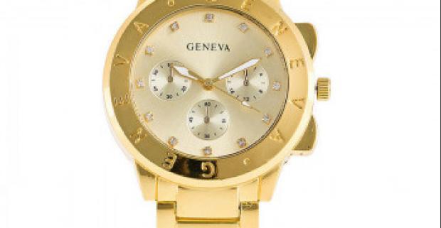 b5a6741142d Luxusné náramkové hodinky Geneva môžete mať teraz za výhodnú cenu. Dostupné  v troch farbách  zlatá