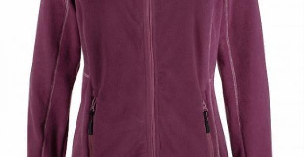 Športové triko Maria Höfl-Riesch z príjemného strečového materiálu. Vysoko zapínateľný golier s kapucňou a reflexná potlač loga.