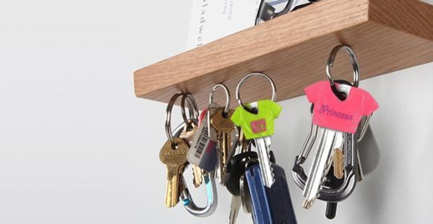 Tričko na kľúče. Oživte zväzok svojich kľúčov veselými tričkami a majte konečne prehľad ktorý kľúč patrí ku ktorým dverám.