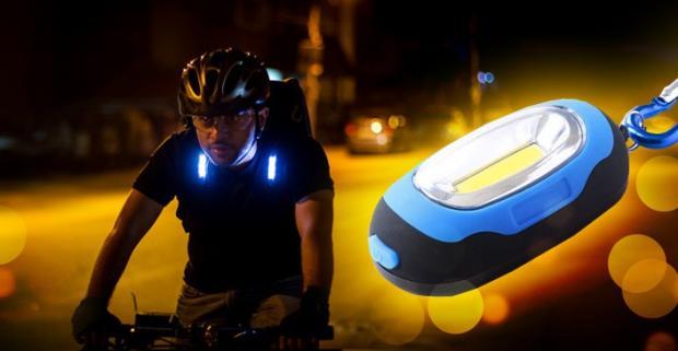 Mini LED svetielko je užitočný pomocník, ktorý vám osvetlí tmavé miesta. Skvelý pri pri nočnom príchode domov, na výlet či túru.