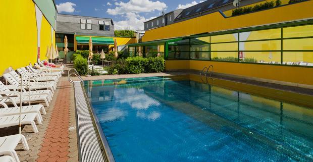 Jedinečný pobyt vo Viedni. Komfortné ubytovanie s neobmedzeným wellness a raňajkami vám poskytne Vienna Sporthotel****.