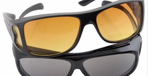 0315a33c7 Okuliare pre vodičov HD Vision 2ks. Zvýšte svoj… | Odpadneš.sk