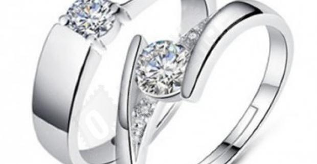 Svadobné alebo zásnubné prstene pre pár 8cb685cd0e0