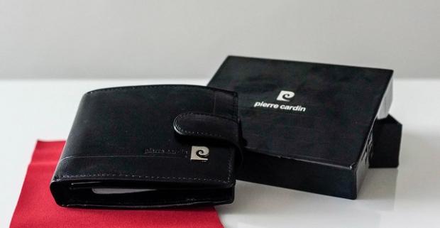 d4e816804 Kožená pánska peňaženka Pierre Cardin. Vyrobená z kvalitnej talianskej kože.