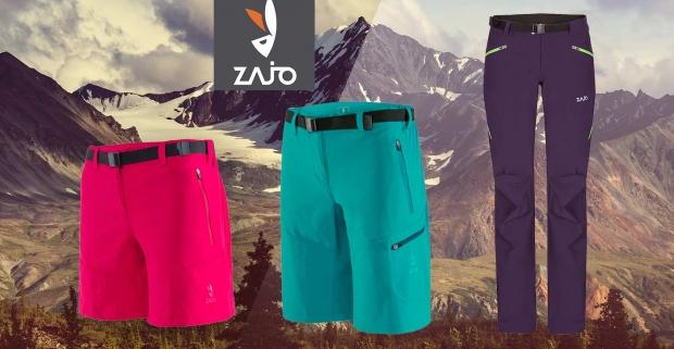 bdc4d30a3832 Turistické nohavice ZAJO pre dámy - krátke modely na leto