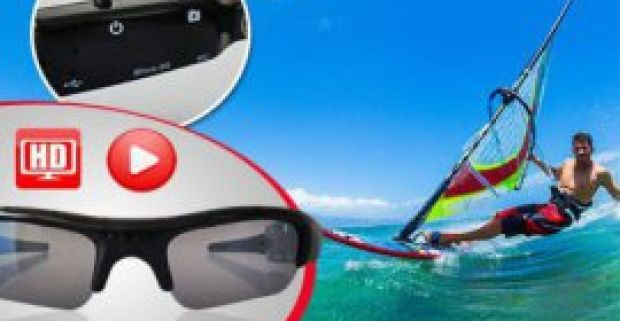Fantastické DVR slnečné okuliare s mikro kamerou a slotom na SD karty. 19e9e281b4e