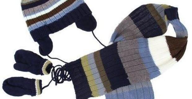 916576d84 Detský set: čiapka, šál a rukavice v chlapčenských… | Odpadneš.sk