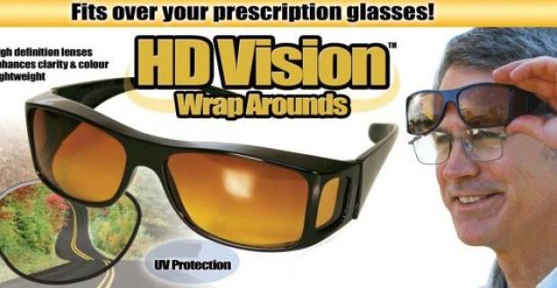 3d162863b HD Vision okuliare, s ktorými bude vaša jazda v hmle, v šere aj v noci  bezpečnejšia.