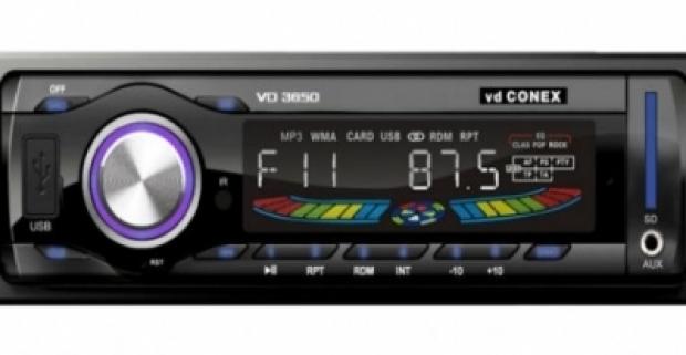 Soundrace MP3 autorádio Digitálne rádio s USB, diaľkovým ovládaním